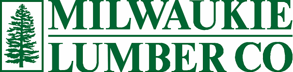 Milwaukie Lumber pine tree logo